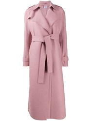 Harris Wharf London Long Belted Coat 60