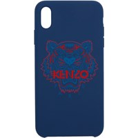 Kenzo Navy And Red Tiger Iphone X Xs Case