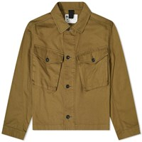 Mhl By Margaret Howell Mhl. Cropped Army Jacket Green