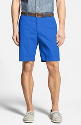 Men's Big And Tall Bobby Jones Stretch Cotton Flat Front Shorts Lapis