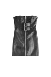 Alexander Wang Leather Corset Black