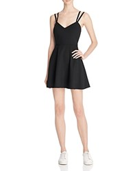 French Connection Whisper Ruth Strappy Dress Black