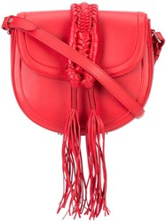 Altuzarra 'Ghianda' Saddle Bag Red