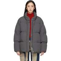 Ienki Ienki Grey Down Cloud Jacket