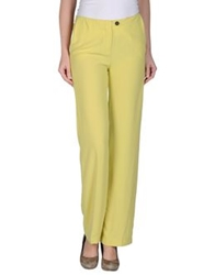 Trou Aux Biches Casual Pants Acid Green