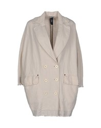 High Coats And Jackets Full Length Jackets Women Beige