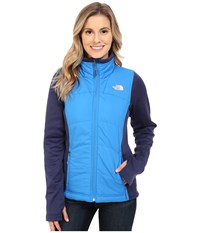 The North Face Agave Mash Up Jacket Clear Lake Blue Patriot Blue Heather Women's Coat
