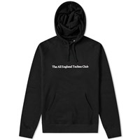 Idea All England Techno Club Hoody End. Exclusive Black