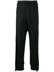 Y 3 Patchwork Trousers Black