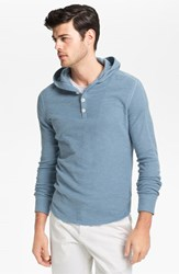 Vince Men's Thermal Pullover Hoodie