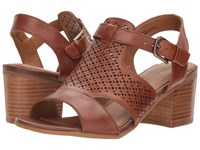 Comfortiva Amber Luggage Montana Women's Clog Mule Shoes Brown