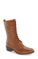 Corso Como Women's 'Raymond' Lace Up Boot Tobacco Leather