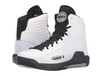 And 1 Reaper White Black Limestone Men's Basketball Shoes