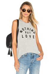 Spiritual Gangster Nothing But Love Tank Gray