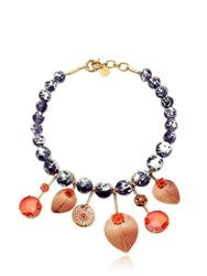 Valentina Brugnatelli Tatiana Prune Necklace