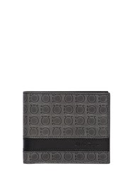 Salvatore Ferragamo Gamma Printed Leather Wallet