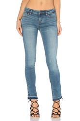 Free People Low Rise Side Slit Jeans Dark Denim