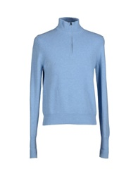 Ballantyne Turtlenecks Sky Blue