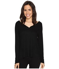 Culture Phit Cambria Long Sleeve Top Black Women's Clothing