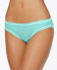 Charter Club Modern Essentials Lace Trim Bikini Only At Macy's Mint