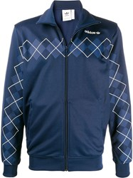Adidas Zipped Argyle Track Top 60