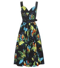 Marc Jacobs Printed Stretch Cotton Dress Multicoloured