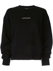 Loveless Logo Sweatshirt Black
