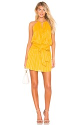 Parker Larissa Dress Yellow