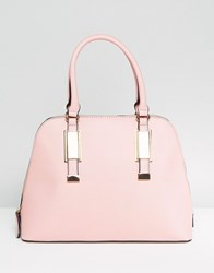 Aldo Dome Tote Bag With Top Handle In Blush Blush Red