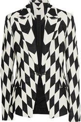 Gareth Pugh Bowie Cotton Blend Faille Jacket Black