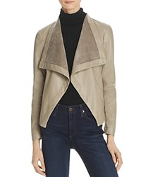 Bb Dakota Peppin Draped Faux Leather Jacket Toffey
