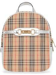 Burberry The 1983 Check Link Backpack Neutrals