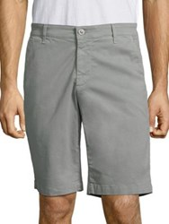 Ag Jeans Griffin Stretch Sateen Shorts Grey