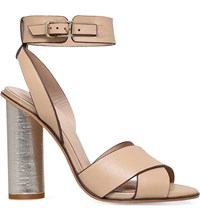 Kurt Geiger Talbot Leather Sandals Nude