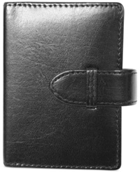 Royce Leather Aristo Double Decker Playing Card Set Black
