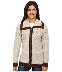 Royal Robbins Elsa Cardi Oatmeal Women's Sweater Brown