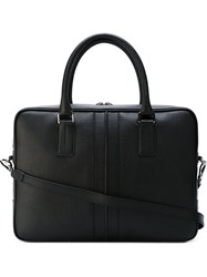 Tod's Zipped Briefcase Black