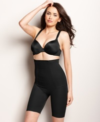 Miraclesuit Extra Firm Control Shape With An Edge High Waist Thigh Slimmer 2709 Black