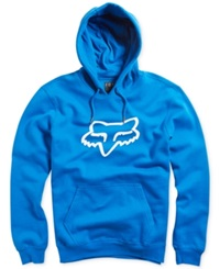 Fox Legacy Fleece Hoodie Blue