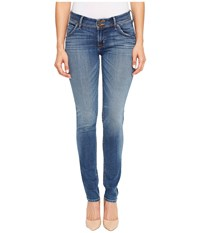 Hudson Collin Mid Rise Skinny Flap Pocket In Contender Contender Women's Jeans Blue