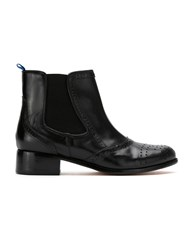 Blue Bird Shoes York Leather Boots Black