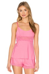 Commando Butter Lace Cami Pink