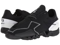 Yohji Yamamoto Adidas Y 3 By Y 3 Ekika Black Y 3 Black Y 3 Footwear White Athletic Shoes