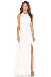 De Lacy Nikki Maxi Dress White