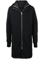 Andrea Ya'aqov Hooded Down Coat Black