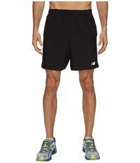 New Balance Accelerate 7 Short Black Men's Shorts