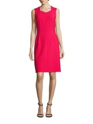 Boss Dilunea A Line Dress Ruby Red
