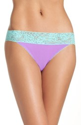 Betsey Johnson Women's Forever Perfect Hipster Panty Purple Panther