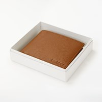 Barbour Leather Wallet Card Id Wallet Tan