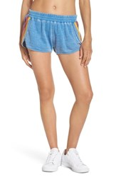 Aviator Nation Five Stripe Shorts Vintage Sky